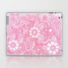 Henna Design - Pink Laptop & iPad Skin