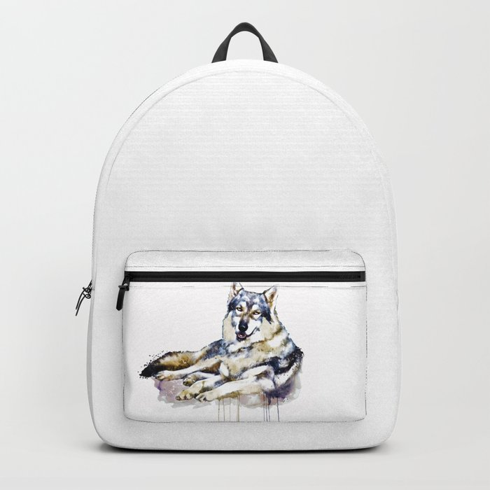Smiling Wolf Backpack