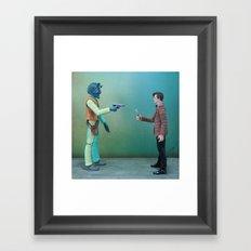 Time Lord Bounty Framed Art Print