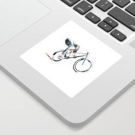 biking Sticker