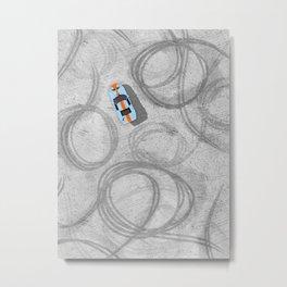 Burnouts  Metal Print