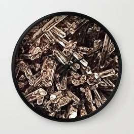 Mexican Gypsum Filtered Wall Clock