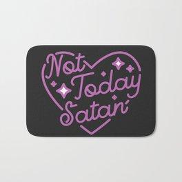 not today satan III Badematte