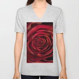 Red Rose Inception Unisex V-Neck