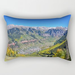 Telluride Colorado Rectangular Pillow