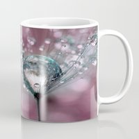 sparkles Mugs featuring Rasberry Sparkles by Sharon Johnstone
