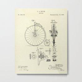 Bicycle-1887 Metal Print