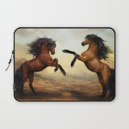 The Dueling Stallions Laptop Sleeve