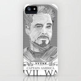 Civil War #2 iPhone Case