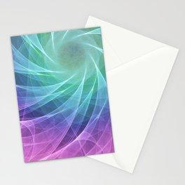 Whirlpool Diamond Computer Art Stationery Cards