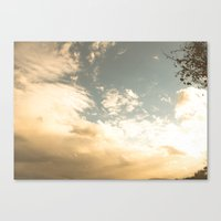 celestial Canvas Prints featuring Celestial by Em Beck