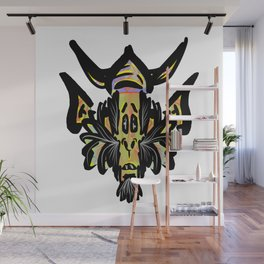 Alien Warrior Wall Mural