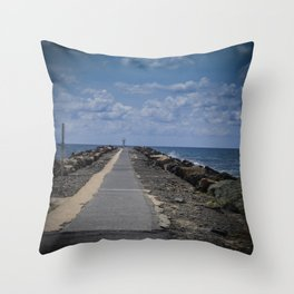 The Spit Gold Coast Throw Pillow