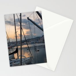 Nautical Sunset in Italy Stationery Cards