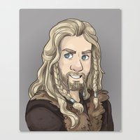 fili Canvas Prints featuring Fili by quietsnooze