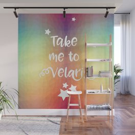 Take Me To Velaris - Night Court Print -A Court of Mist and Fury Rainbow Wall Mural