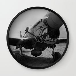 Vintage Fighter Wall Clock
