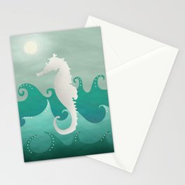 Sea Stallion #Seahorse #Ocean Stationery Cards