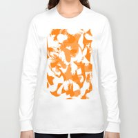 egg Long Sleeve T-shirts featuring Egg by Cart My Art