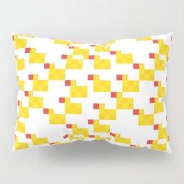 Pixel by pixel – Rubber duck Pillow Sham