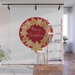 Christmas Cookies Wall Mural