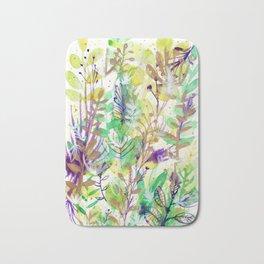 Leaves texture 02 Bath Mat