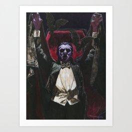 Count Dracula 1931 Bela Lugosi Art Print