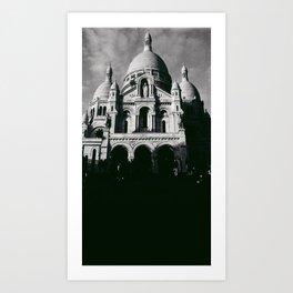 Sacre Coeur NO2 Art Print
