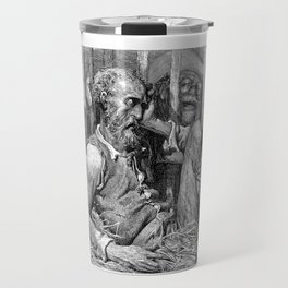 Don Quixote print | Quijote by Cervantes - Fine Art products Travel Mug