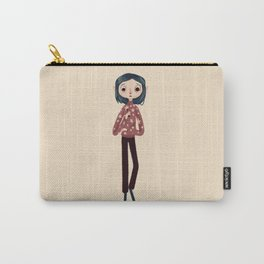 Be Wise, Be Brave, Be Tricky Carry-All Pouch