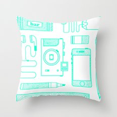 Work Throw Pillow