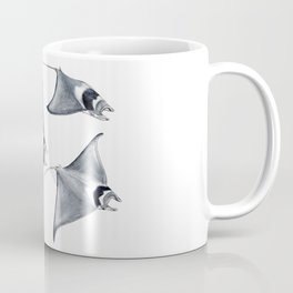Devil fish Manta ray Mobula mobular Coffee Mug