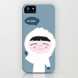 Cute little Eskimo iPhone Case