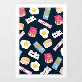 But First Breakfast Art Print