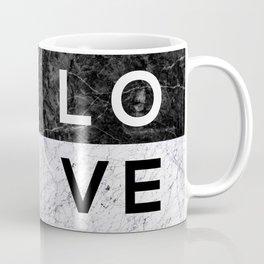Love B&W Coffee Mug