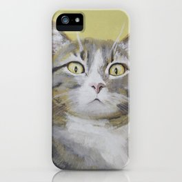 Cat Portrait #1 - Hattie iPhone Case