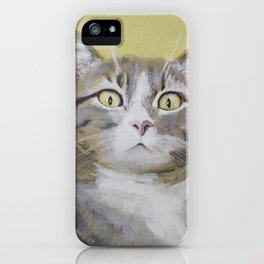 Cat Portrait #1 - Hattie iPhone Case