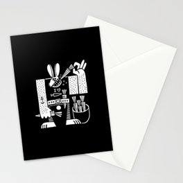 Carrots All Day Long Stationery Cards