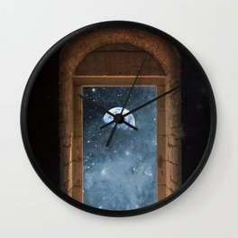 DOOR TO THE UNIVERSE Wall Clock