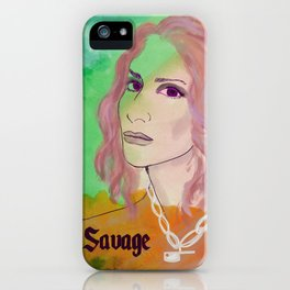 SAVAGE MUSE: LEILA iPhone Case