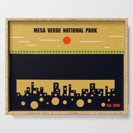 Mesa Verde National Park Serving Tray