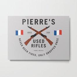 Pierre's Used Rifles Metal Print
