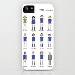 Ipswich Town - All-time squad iPhone Case
