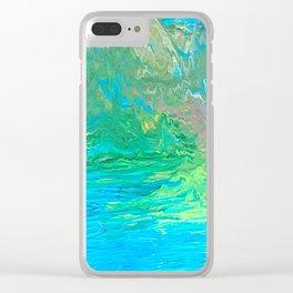 Island Dream Clear iPhone Case