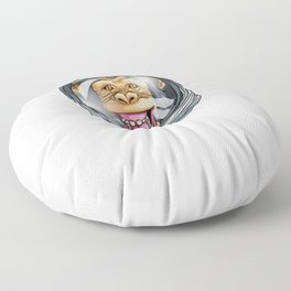 I Need More Space Astronaut Monkey Outserspace Science Geek Floor Pillow