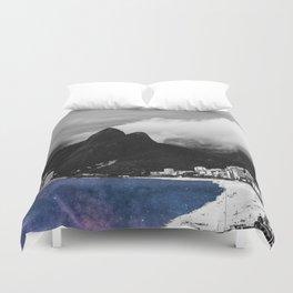 Ipanema's Cosmic Sea Duvet Cover