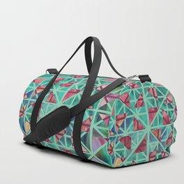 Geometric Shapes: Triangles 02 Duffle Bag