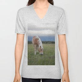 Blonde Beauty Unisex V-Neck