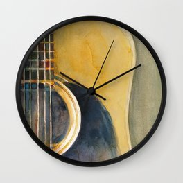 Martin Accoustic Guitar Wall Clock