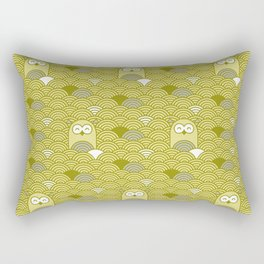 owl pattern Rectangular Pillow